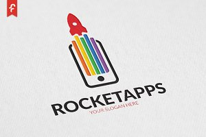 Rocket Apps Logo