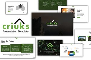 40%OFF - Criuks Powerpoint Template