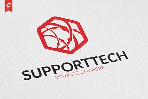 Support Tech Logo