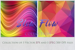SALE SLOW FLOW 7 collection textures
