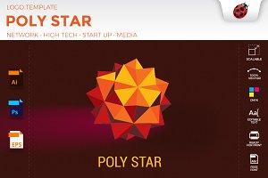 Poly Star • logo temlates