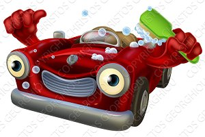 Car wash character