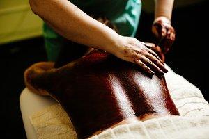 chocolate massage body