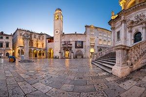 Liza Square, Dubrovnik