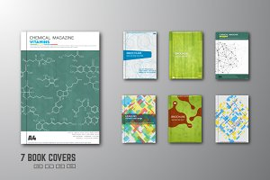 Set of book cover designs