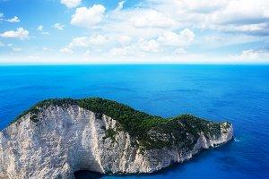 Beautiful landscape of Zakinthos
