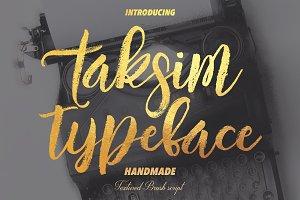 Taksim typeface