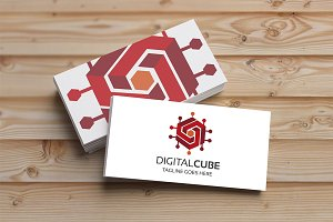 Digital Cube Logo