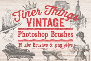 Finer Things Vintage Brushes