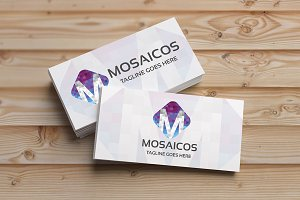Mosaicos (Letter M) Logo