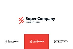 Super Company Logo- Extended License