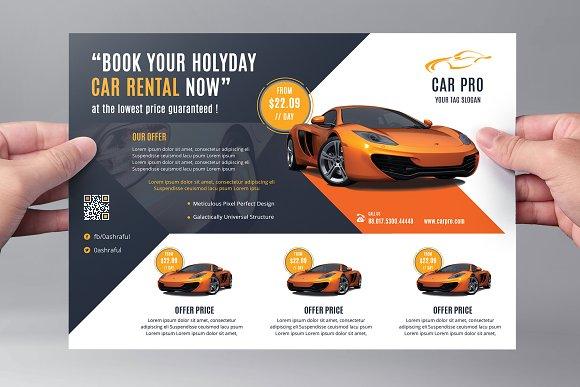 Car Sale Business Flyer Flyer Templates Creative Market – Car Sale Flyer