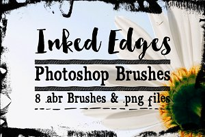 Inked Edge Photoshop Brushes