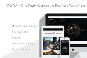Olyna - Business WordPress Theme