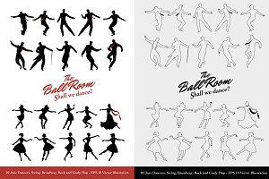 The Ballroom Silhouettes