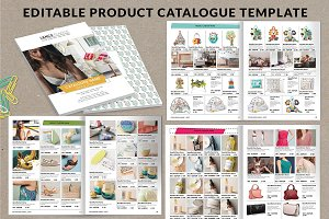 Wholesale catalog template magazine templates creative for Free catalog templates for publisher