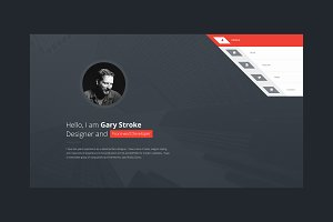 Responsive vCard HTML Template