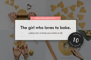 Food Stock Photo Bundle Baking Pack