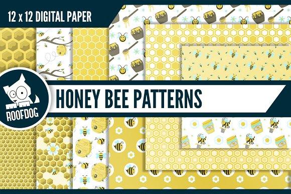 Honey Bee Digital Paper