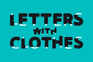 Letters With Clothes