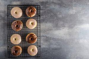 Homemade donuts delish