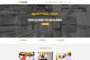Builder Construction WordPress Theme