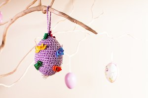 Handmade easter decorations