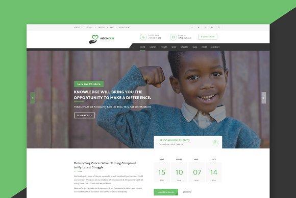 Non Profit Charity HTML Template