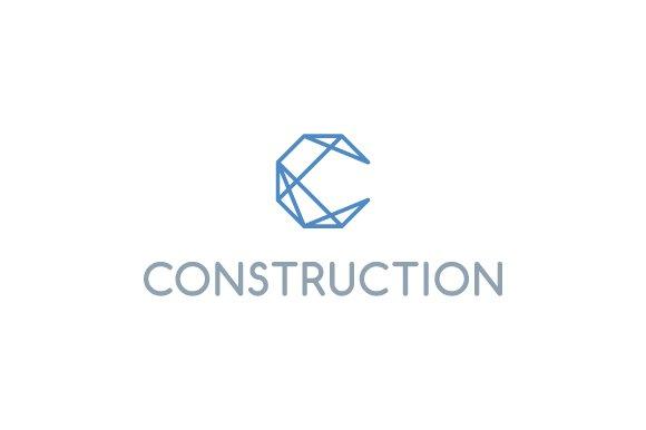 construction letter c logo logo templates creative market