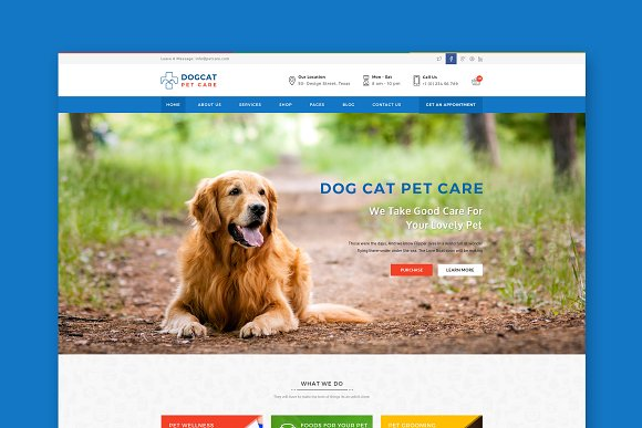 Pet Care Veterinary HTML Template