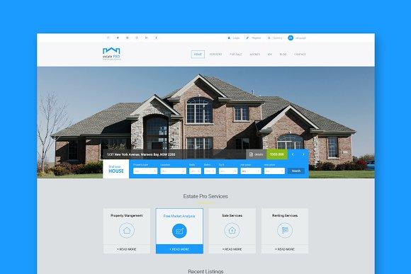 Estate Pro Real Estate HTML