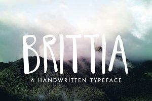 Brittia Handwritten Font
