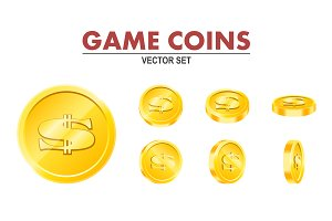 Game coins.