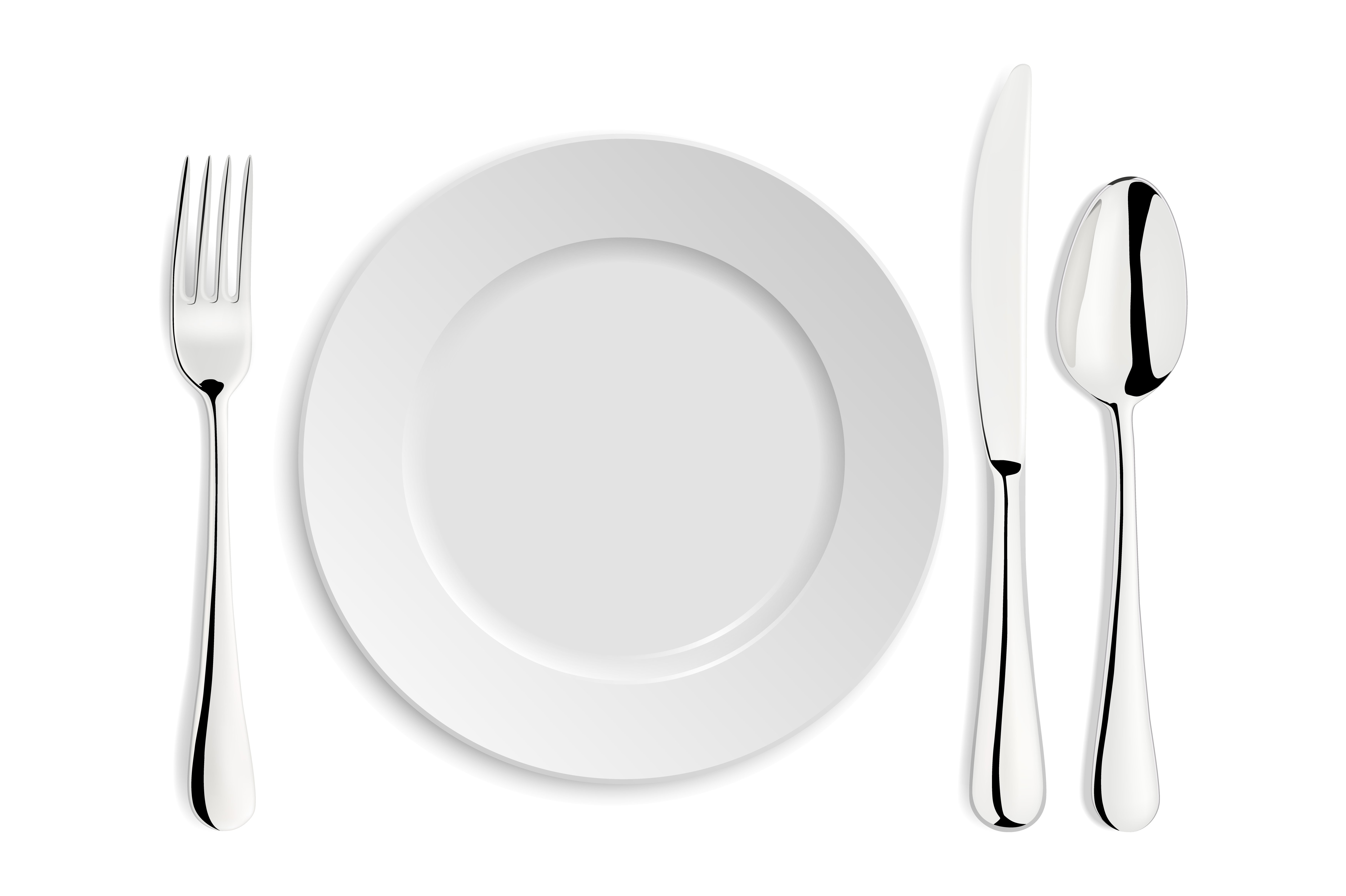 how to put knife and fork