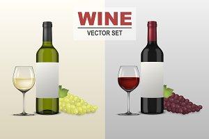 Wine illustrations.