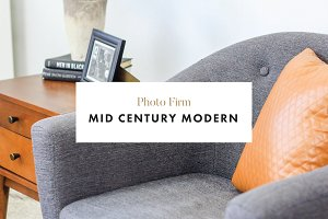 Mid Century Modern - Styled Photos