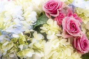 Hydrangea & Rose #2