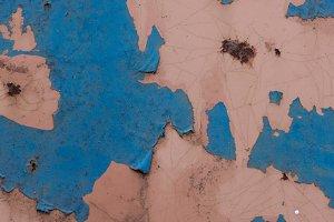 Closeup of Peeling Paint