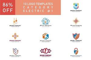 10 Logo Set - Electric