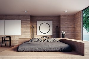 The Loft and Modern Bedroom