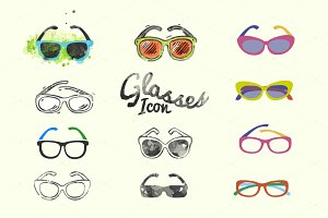 Glasses Icons Pack