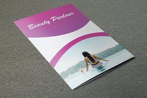 Beauty Salon Brochure Template-V720