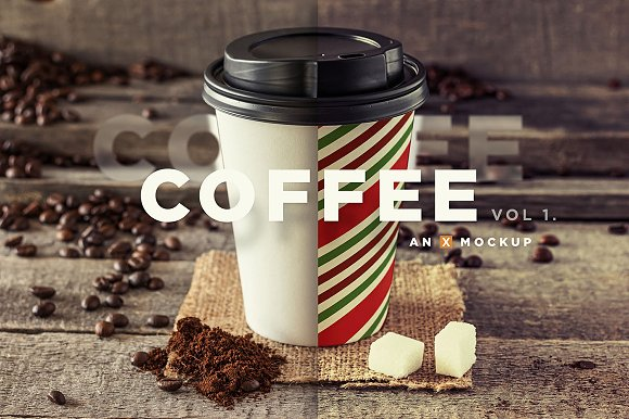 Coffee Branding Mockup Vol 1