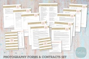 NG009 Photography Contracts & Forms
