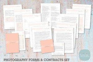 NG002 Photography Contracts & Forms