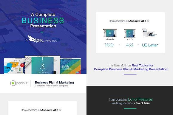 business plan marketing powerpoint presentation templates