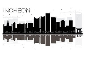 Incheon City skyline