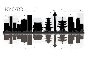 Kyoto City skyline