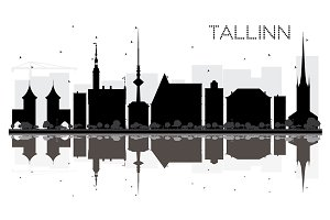Tallinn City skyline