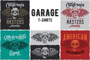 GarageMasters  T-shirt Designs